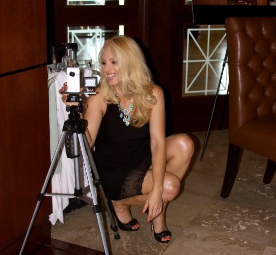Jacqueline Jax flip camera