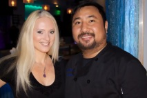 Jacqueline Jax and Chef Mai Tokyo Blue