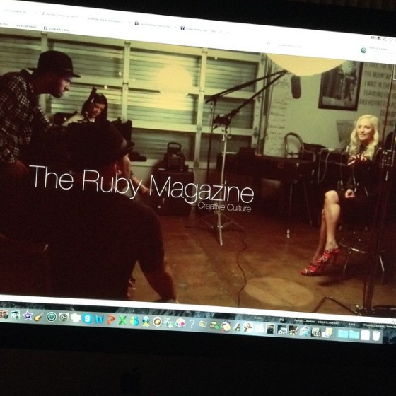 Jacqueline Jax Ruby magazine AVA Live Radio Behind the music