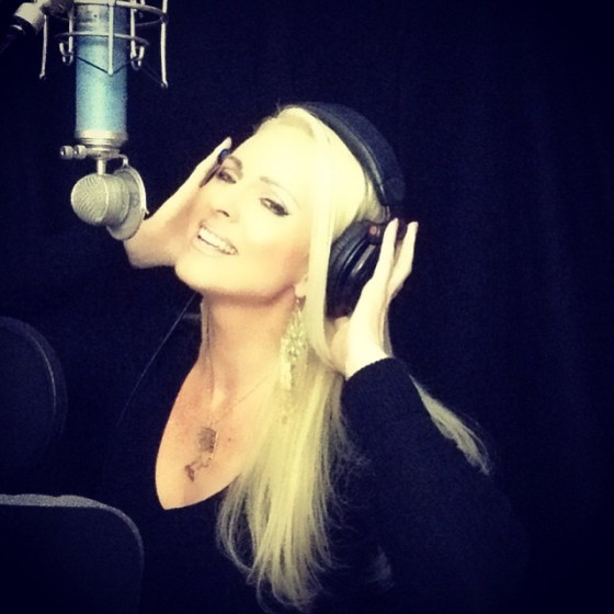 Jacqueline Jax Rock Video Music studio