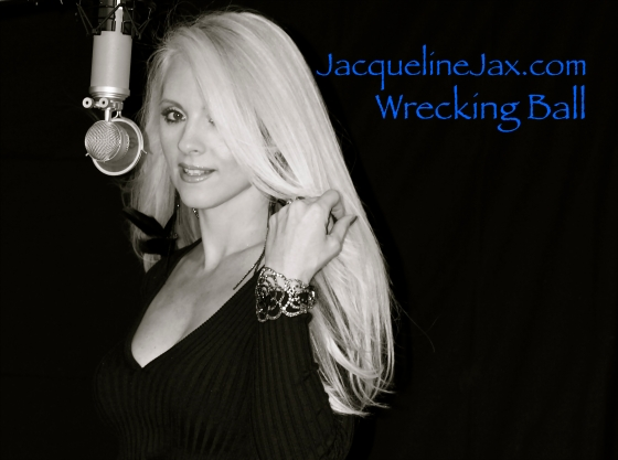 Jacquelinejax wrecking ball music