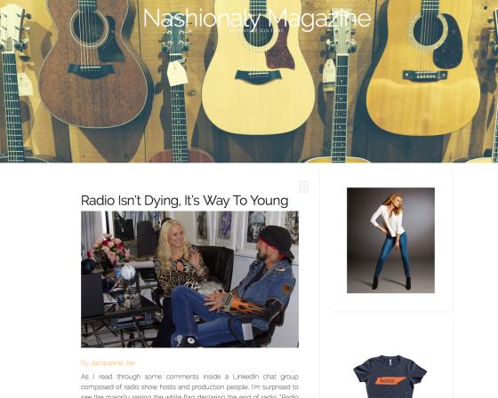 Nashionaly Magazine Jacqueline jax