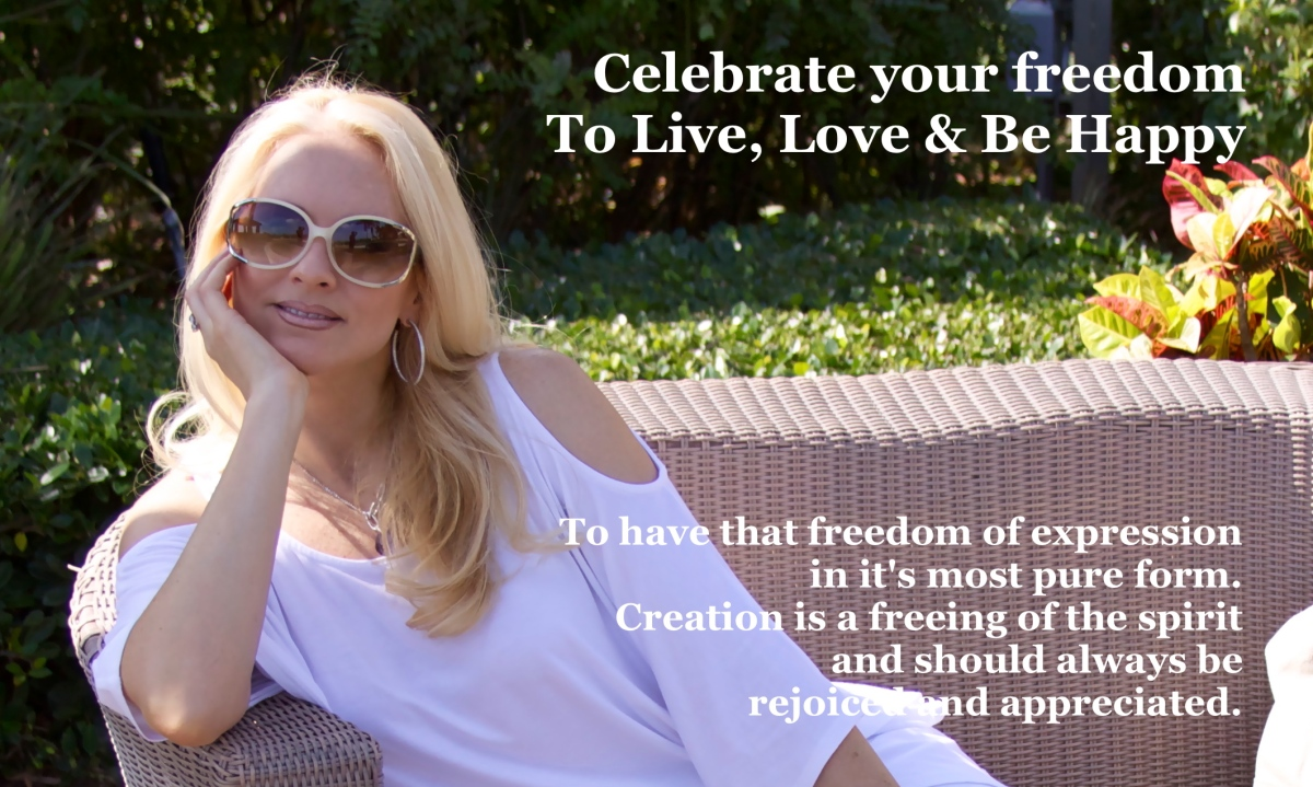 Celebrate Your Freedom to Create and Express Yourself