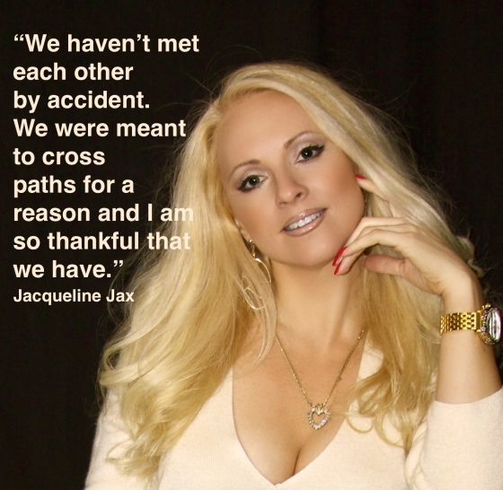 Jacqueline Jax quote about friendship life