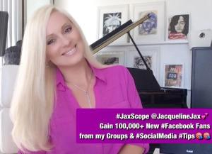 Jaxscope jacqueline jax facebook marketing